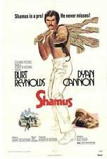 SHAMUS Movie POSTER 27x40 Burt Reynolds Dyan Cannon John P. Ryan