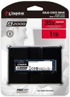 Kingston 1TB A2000 M.2 2280 Nvme Internal SSD PCIe Up to 2000MB/S