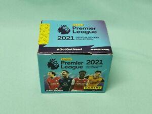 Panini Football 2021 Premier League 1 x Display / 50 Tüten