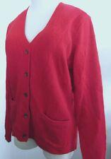 NWT Ralph Lauren Sport Red Merino Wool / Angora Knit Cardigan Size XL