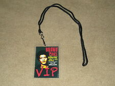 BRUNO MARS MOONSHINE JUNGLE TOUR VIP ALL ACCESS BACKSTAGE MEET PASS WITH LANYARD
