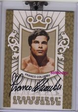 2008 SPORTKINGS AUTO GOLD #FC1: FRANCO COLUMBU/10 AUTOGRAPH MR OLYMPIA/UNIVERSE