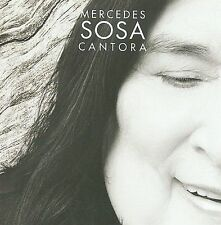 Cantora 1 by Mercedes Sosa (CD, Sep-2009, Fox Int'l Red) Ex-library-plays great!