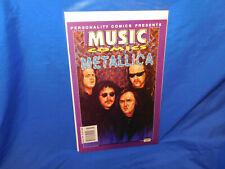 MUSIC COMICS METALLICA (Personality Comics) James Hetfield VF RARE