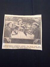 K3-3 1953 Picture Ephemera Lostwithiel Carnival Queen Miss Renee Cudd A Carhart