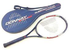 Donnay Rusedski Tour Tennis Racket w Case Supermidsize Hi Modulus Graphite SL2