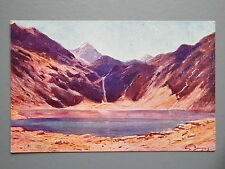 R&L Postcard: Lac D'oo, Sites of France, L&M Artist