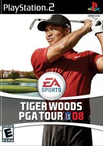 Tiger Woods PGA Tour 08 - Playstation 2 Game Complete