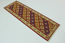 nomades Kelim très bien pièce unique PERSAN TAPIS tapis d'Orient 2,44 x 0,82
