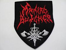 MANIAC BUTCHER  EMBROIDERED PATCH