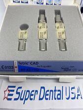 Box5 Ips Tetric Cad Refill For Programill Ht A2 I12 Ivoclar Dental Blocks