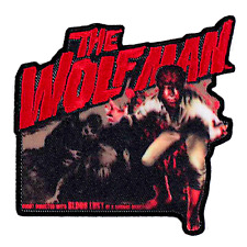Universal Monsters The Wolfman Bloodlust Patch Halloween Sew On Embroidered