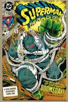 Superman The Man Of Steel #18-1992-nm 1st Doomsday full app 1st STANDARD Cover