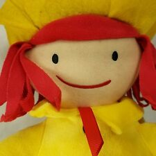 Madeline Kohl's Cares Doll Stuffed Plush Yellow Coat Hat 14 inch 2016 Toy Tags