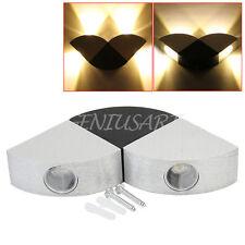 Lampada da Parete 4 LED Plafoniera Corridoio Bianco Caldo Illuminazione Interno
