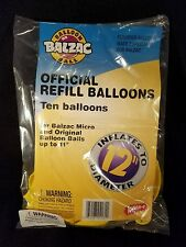 BALZAC New Sealed Official Balloon Ball Official Refill Balloons 1998 pack of 10