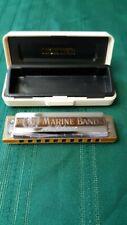 m hohner marine band harmonica #1986