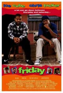 Friday Movie POSTER 27 x 40 Ice Cube, Chris Tucker, Bernie Mac, A