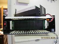 Matrix 20 Slot PLC Module Slot Rack Cage & Power Supply QMB20.6AS4T-H-Z