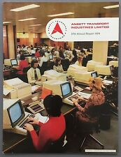 ANSETT TRANSPORT INDUSTRIES ANNUAL REPORT 1974 AIRLINES AUSTRALIA BOEING 727