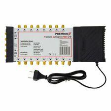 PremiumX 5/16 Multischalter SAT Multiswitch Satelliten Switch 16 Teilnehmer HDTV