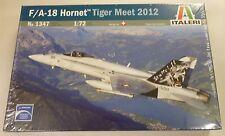 Italeri 1/72 F/A18 Hornet Tiger Meet 2012 Swiss Aircraft Model Kit 1347