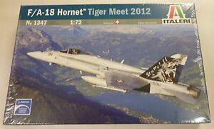 Italeri 1/72 F/A18 Hornet Tiger Meet 2012 Model Kit 1347