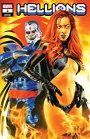 🚨🔥💀 HELLIONS #3 MIKE MAYHEW Exclusive Trade Dress Variant NM Goblin Queen