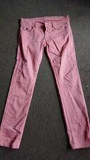 Maison Scotch Marken Hose Jeans rosa rose S 36 angesagt modern