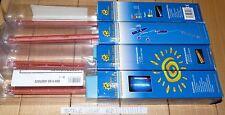 9raf0 NEON PC MODDING SUNBEAM METEOR LIGHT 30CM ROSSO RED SEQUENZE DI LUCI NUOVO