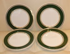 """Antique Spode Copeland For Tiffany and Co New York set of Four 9"""" Plates"""