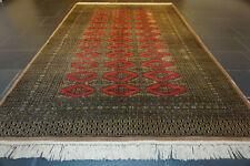 Fein Handgeknüpfter Perser Orientteppich Afghan Buchara Carpet Tappeto 160x250cm