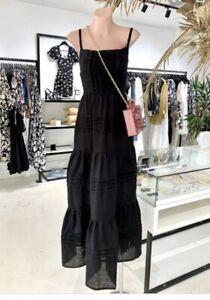 Ess The Label Black Linen Dress