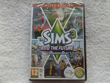 THE SIMS 3 INTO THE FUTURE LIMITED EDITION EXPANSION PC/MAC DVD ( new sealed )