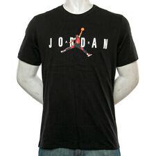 Nike Air Jordan AJ85 Heritage Logo Tee Mens T-Shirt Black Size M Sportswear