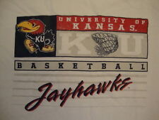 Kansas Jayhawks Basketball T Shirt L