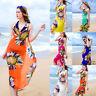 FT- Summer Women Bath Suit Bikini Swimwear Cover Up Beach Dress Sarong Wrap