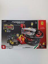 "NIB Bburago 1:43 Ferrari Race Play Parking Garage Car La Ferrari 33""x26""x15"""