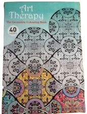 Art Therapy Geometrical Adults colouring book