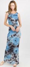 Yelete BLUE Tie-Dye Maxi Dress SM