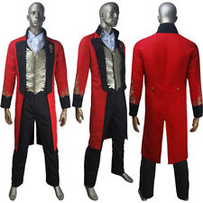The Greatest Showman P. T. Barnum Circus Tuxedo Cosplay Halloween Costume US Men Large