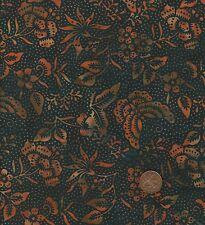 Hoffman 3324 319 Black/orange Batik 100 Cotton Fat Quarter