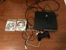 PS3 Console + Controller + Games