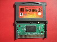 Incredibles Nintendo Game Boy Advance Disney Kids Pixar Movie Video Game