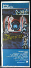 THE HUMANOID 1979 Sci Fi HORROR Original daybill Movie Poster Richard Kiel