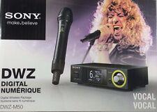 Sony - DWZ-M50 - Series Digital Wireless Vocal Set - Black