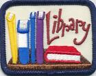 Girl Boy Cub LIBRARY tour visit Fun Patches Crests Badges SCOUTS GUIDES Books