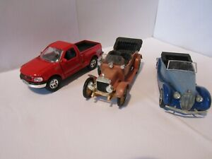 Three diecast cars all 1/43rd scale