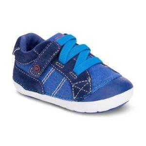 NIB STRIDE RITE Shoes Goodwin Colbart Blue Infant 3 W