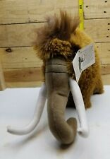 "12"" FIESTA Standing Woolly Mammoth Plush Stuffed Ice Age Animal Soft W/ TAG"